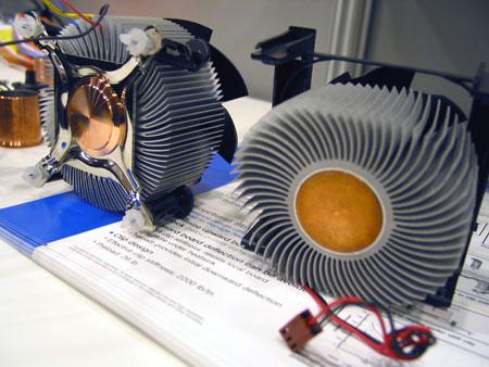 IDF 2004 - koeler voor Prescott FMB 2.0 / Tejas naast huidige koeler