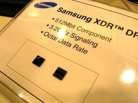 IDF 2004 - XDR DRAM chip