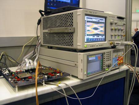IDF 2004 - XDR DRAM test setup