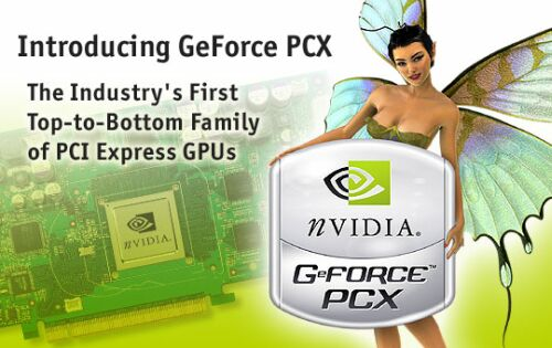 nVidia GeForce PCX aankondiging