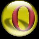 Opera logo (sphere)