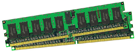 Micron DDR2-geheugenmodules