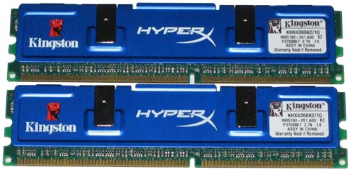 Kingston HyperX PC-4300 geheugen