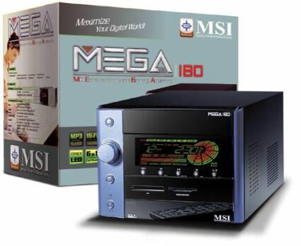 MSI Mega 180 mini-pc met doos