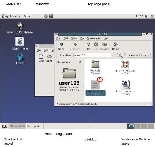 Desktop (met pager)