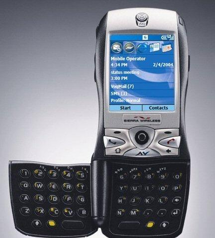 Sierra Wireless Voq smartphone