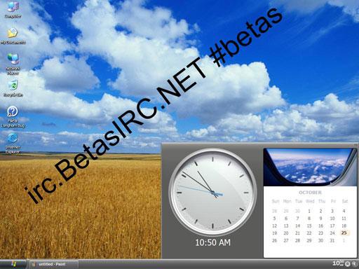 Microsoft Longhorn build 4053 Kalender