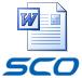 SCO + Word-document