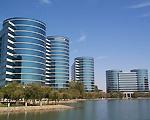 Oracle hoofdkantoor in Redwood Shores, Californi�