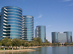 Oracle hoofdkantoor in Redwood Shores, Californi�
