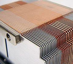 Thermal Integration TI-A8736N heatsink (basis + koelvinnen)