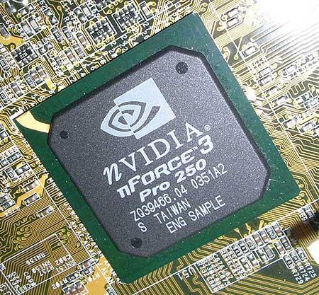 nForce3 Pro 250 op Asus K8N-E Deluxe