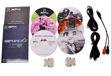 XFX FX 5700 - Doosinhoud