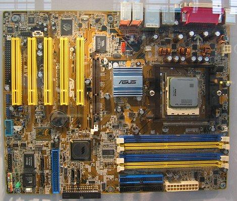 CeBIT 2004: Asus A8V Deluxe (Socket 939)