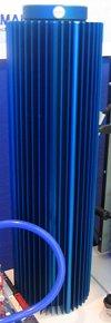 CeBIT 2004: mooie combinatie reservoir / radiator van Zalman