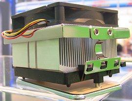 CeBIT 2004: GlacialTech K8-koeler (klein)