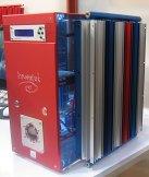CeBIT 2004: Innovatek-kast met grote radiator (klein)