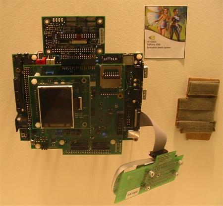 CeBIT 2004: nVidia GoForce 3000