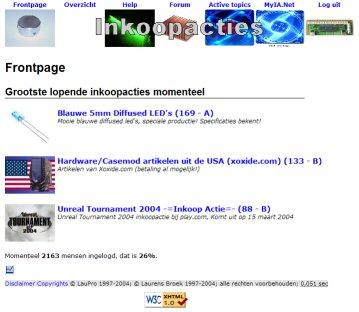 Screenshot Inkoopacties.net (groter)