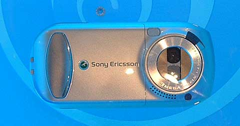 Sony Ericsson S700 dichtgeklapt