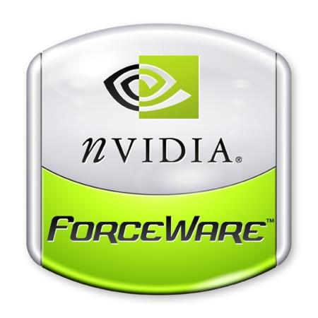 nVidia ForceWare logo (groot)