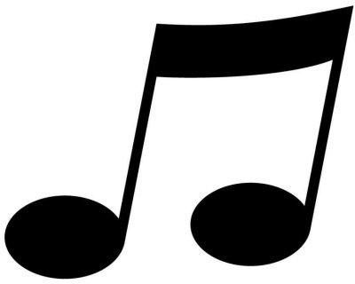 Muzieknoot (groot)