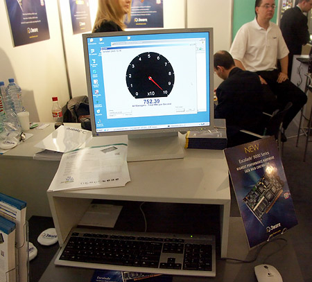 CeBIT 2004: 3ware adapter teaming demonstratie