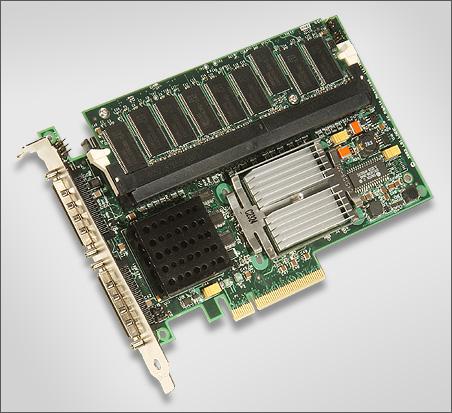 LSI MegaRAID SCSI 320-2E perspic (PCI Express SCSI RAID, 450px)