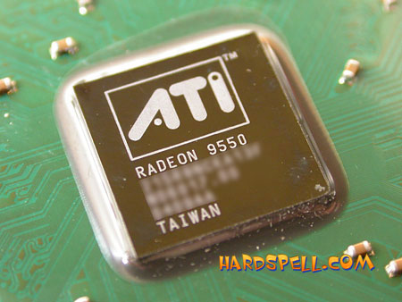ATi Radeon 9550-chip