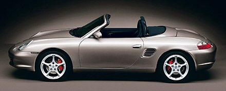 Porsche Boxster S (AOL actie)