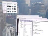The SphereXP desktopomgeving voor Windows XP