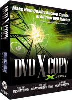 DVD X Copy doos