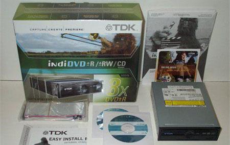 TDK Indi DVD 880N