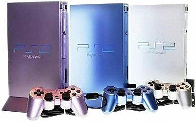 PlayStation 2 beschikbaar in drie nieuwe kleurtjes