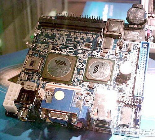 VIA Epia-N Nano-ITX-moederbord