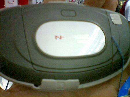 Mogelijke N-Gage 2, achterkant