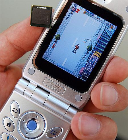 XScale processor met telefoon