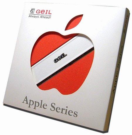 GeIL-geheugenreepje voor Apple-machines in verpakking