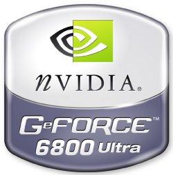nVidia GeForce 6800 Ultra logo (groot)