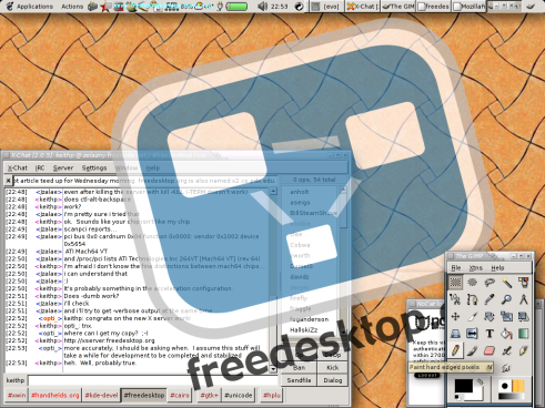 Freedesktop.org XServer - klein
