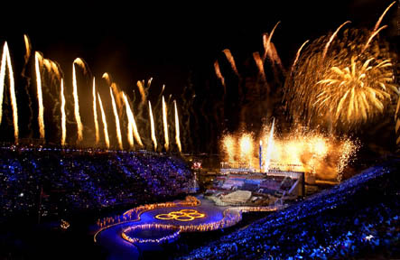 Olympische Spelen - openingsceremonie Salt Lake City