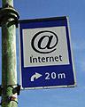 Internet verkeersbord