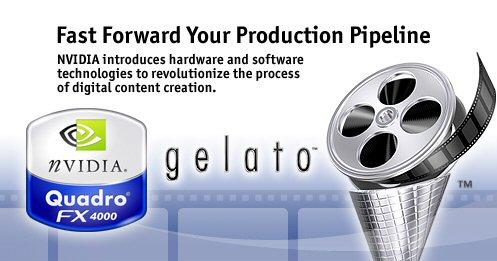 nVidia Quadro FX 4000 / Gelato collage