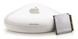 Apple Extreme Airport Base Station met Airport Extreme Kaart