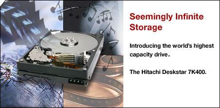 Hitachi Deskstar 7K400 400GB-harde schijf