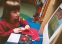Kind voor computer