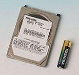 Toshiba MK1031GAS: 2,5'' harde schijf van 100GB