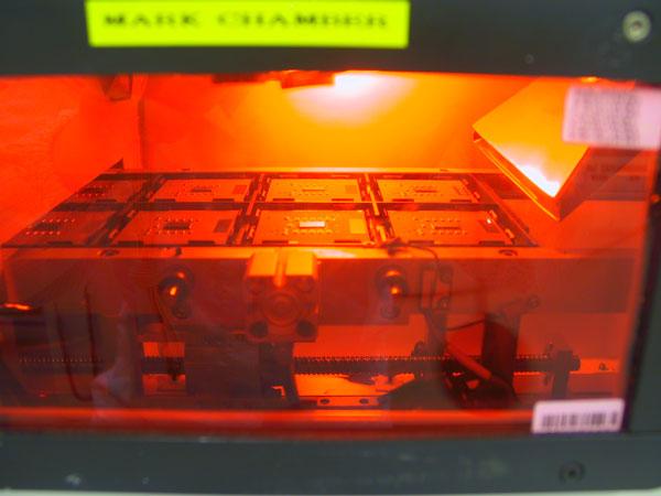 Lasermarken van AMD-procs