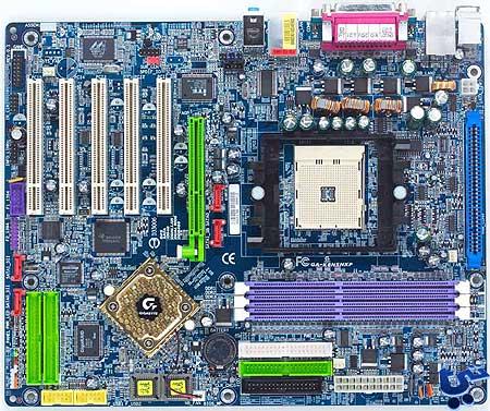 Gigabyte K8NSNXP-moederbord