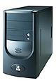 AOpen H450B (FlexATX/MicroATX, 250 Watt, Zwart)